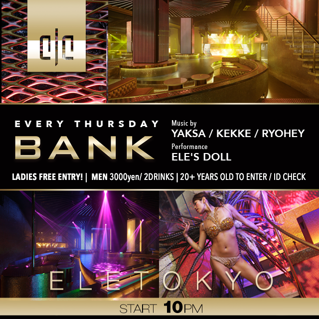 ELE TOKYO THURSDAY NIGHT PROGRAM GOOOOLD